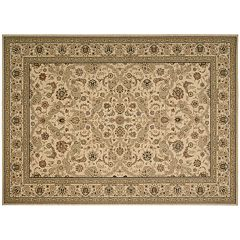 Kathy Ireland Lumiere Royal Countryside Arabesque Blossom Wool Rug