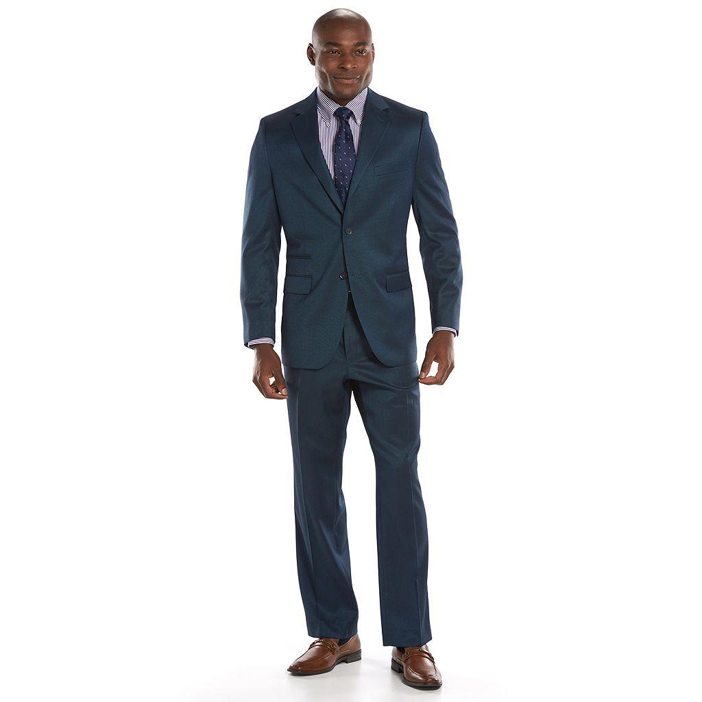 Men's Steve Harvey Classic-Fit Blue Suit Jacket