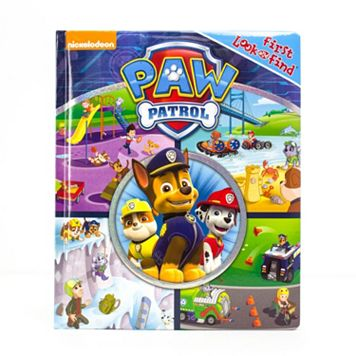 Paw Patrol Little First Look & Find Book