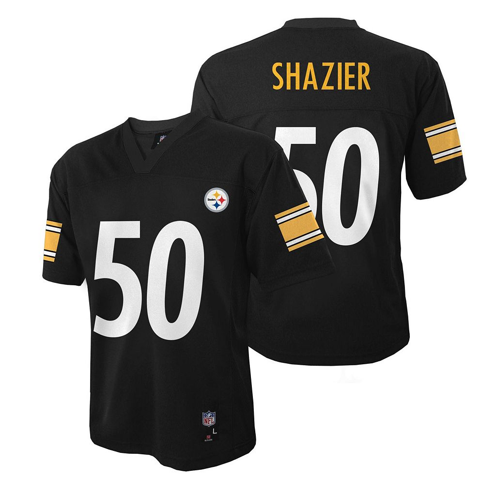 Boys 8-20 Pittsburgh Steelers Ryan Shazier NFL Replica Jersey