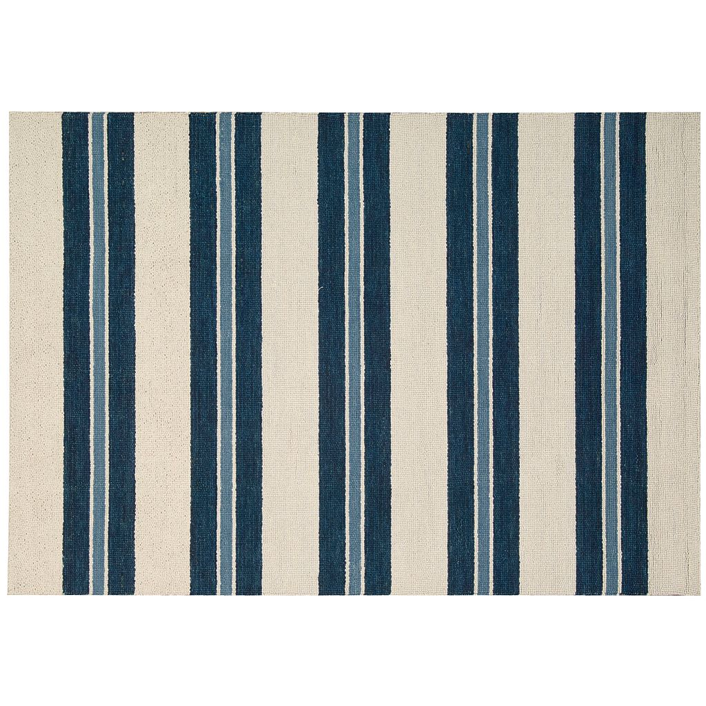 Nourison Barclay Butera Oxford Awning Stripe Wool Rug