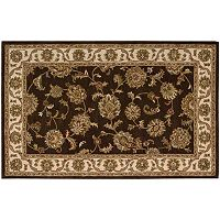 India House Floral Framed Wool Rug