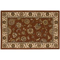 India House Floral Framed Wool Rug