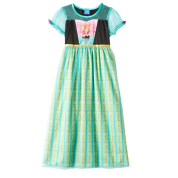 Disney's Frozen Fever Anna Dress-Up Nightgown - Girls 4-10