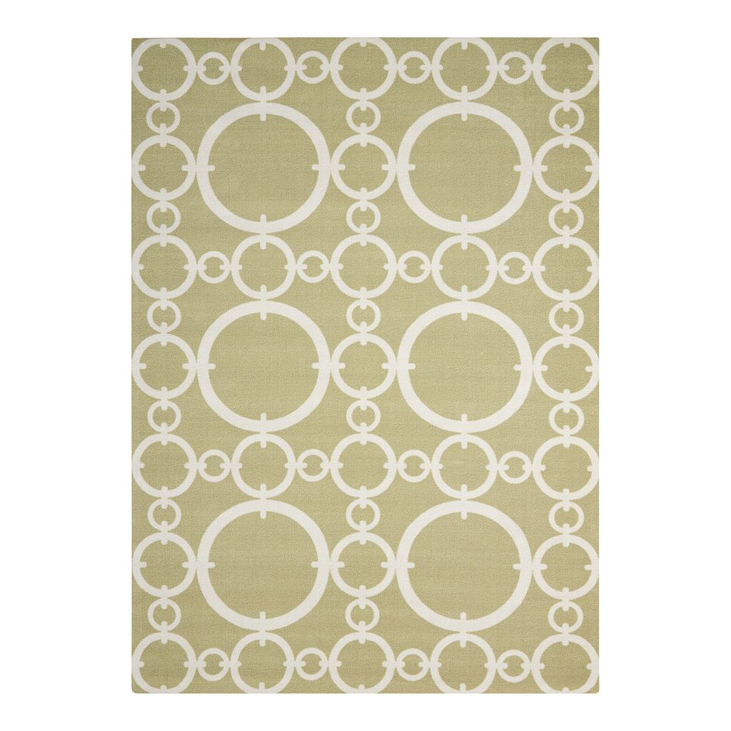 Waverly Sun N' Shade Circles Indoor Outdoor Rug