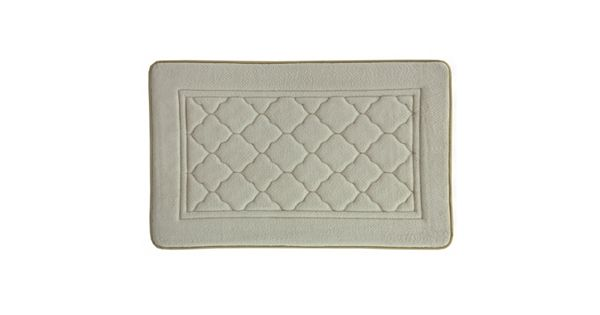 Bacova Florence Antimicrobial Memory Foam Bath Rug