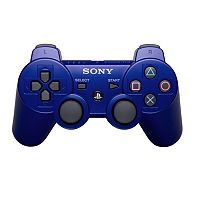Sony PlayStation 3 PS3 DualShock Blue Wireless Controller