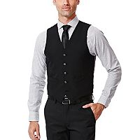 Men's Haggar® Slim-Fit Black Suit Vest