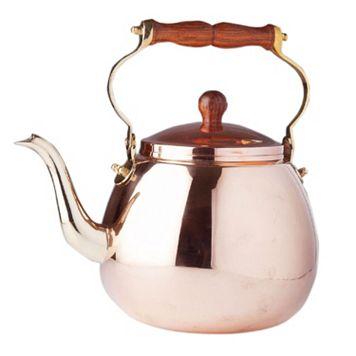 Old Dutch 4-qt. Copper Tea Kettle