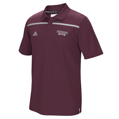 Men's adidas Mississippi State Bulldogs Sideline Coaches Polo