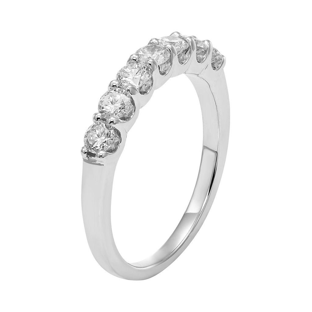 IGL Certified Diamond Wedding Ring in 14k Gold (3/4 Carat T.W.)