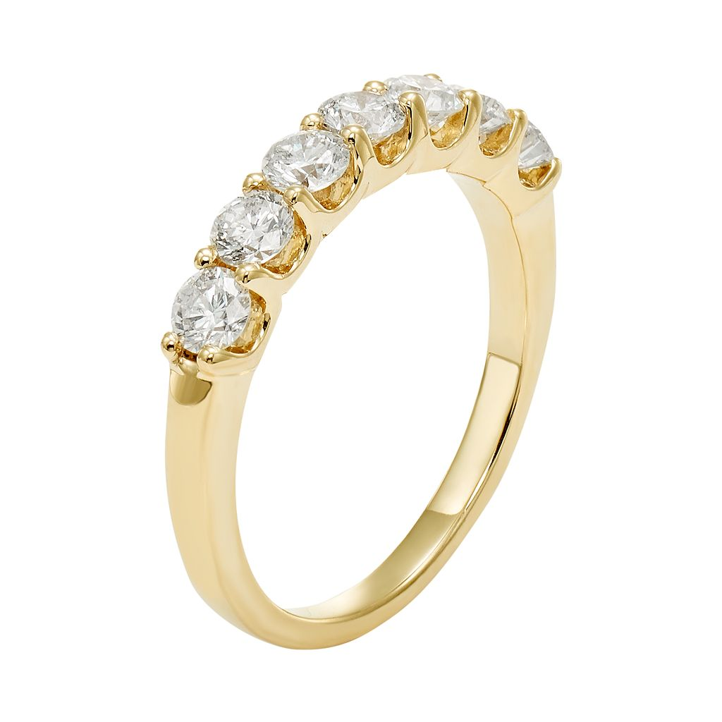 IGL Certified Diamond Wedding Ring in 14k Gold (1 Carat T.W.)
