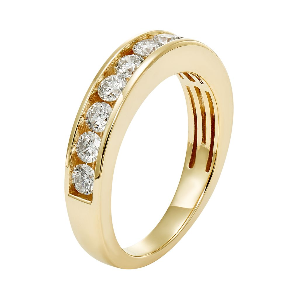 IGL Certified Diamond Wedding Ring in 14k Gold (3/4 Carat T.W.)