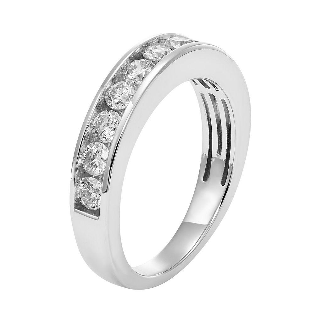 IGL Certified Diamond Wedding Ring in 14k Gold (1 Carat T.W.)