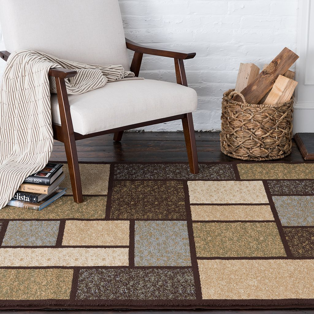Natco Entwine Forester Block Rug