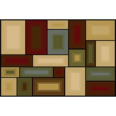 Natco Entwine Illusions Block Rug