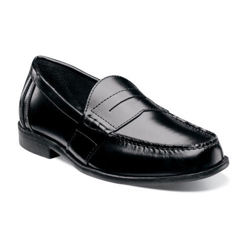 Nunn Bush Kent Men's Moc Toe ... Penny Loafer Dress Shoes