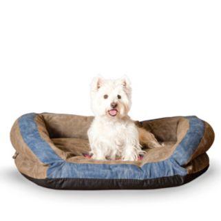 K&H Pet Premium Logo Bolster Pet Bed