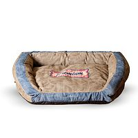 K&H Pet Premium Logo Bolster Couch Pet Bed