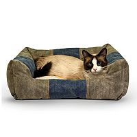 K&H Pet Premium Logo Lounger Pet Bed