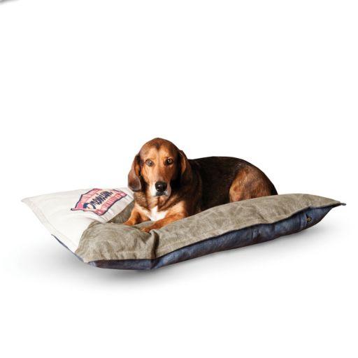 K&H Pet Premium Logo Medium Single-Seam Pet Bed