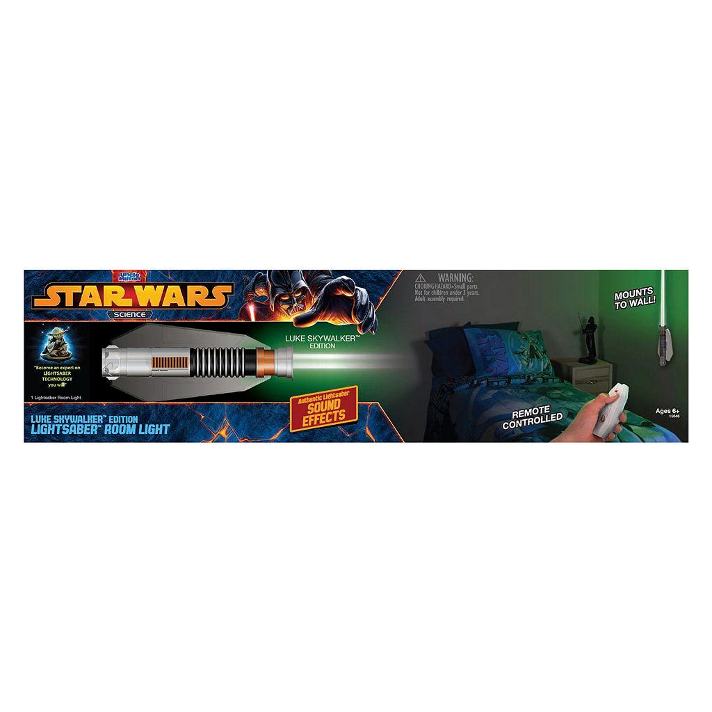 Star Wars Science Luke Skywalker Lightsaber Room Light by Uncle Milton