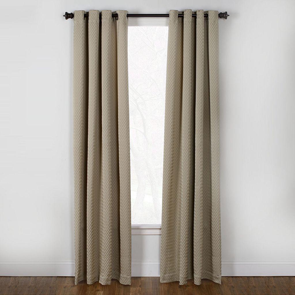 Westgate Boiler Plate Window Curtain - 50'' x 84''