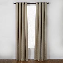 Westgate 1-Panel Boiler Plate Window Curtain - 50'' x 84''