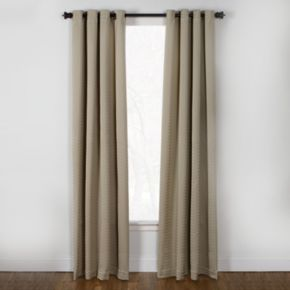 Westgate Boiler Plate Window Curtain - 50'' x 84''