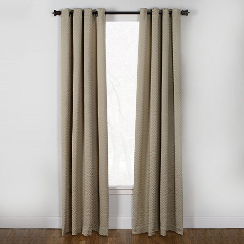Westgate 1-Panel Boiler Plate Window Curtain - 50'' x 84''