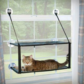 K&H Pet Kitty Sill Double Stack EZ Window Mount