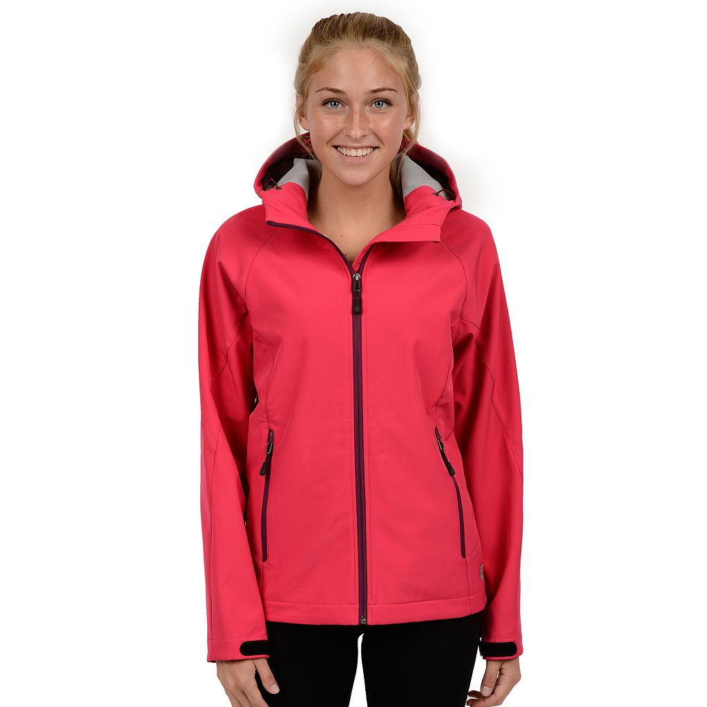 Women's Champion Hooded Soft Shell Jacket