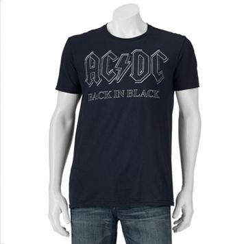 Men's AC/DC Black In Black Tee