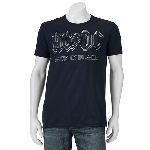 Men's AC/DC Black In Black Tee