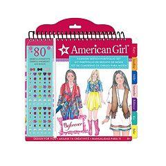 American Girl BeForever Sketch Portfolio by Fashion Angels