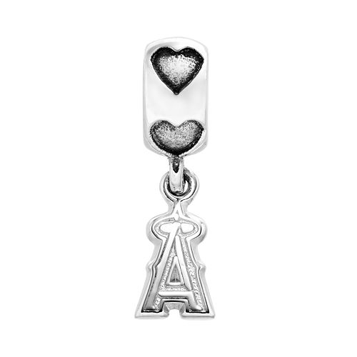 LogoArt Los Angeles Angels of Anaheim Sterling Silver Team Logo Charm