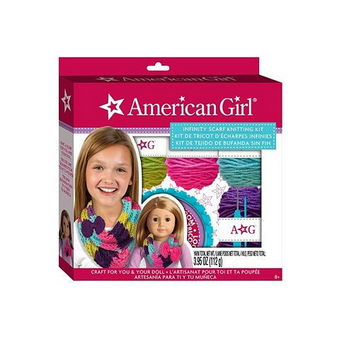 American Girl Infinity Scarf Knitting Kit by Fashion Angels
