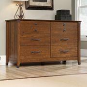 Sauder Carson Forge 6-Drawer Dresser