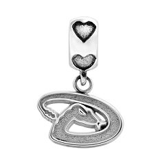 LogoArt Arizona Diamondbacks Sterling Silver Team Logo Charm