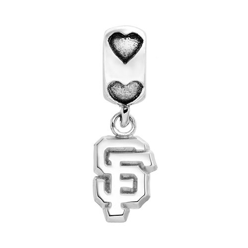 LogoArt San Francisco Giants Sterling Silver Team Logo Charm