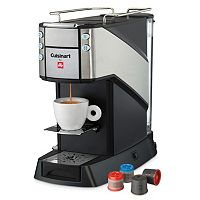 Cuisinart Buona Tazza Single-Serve Coffee & Espresso Machine