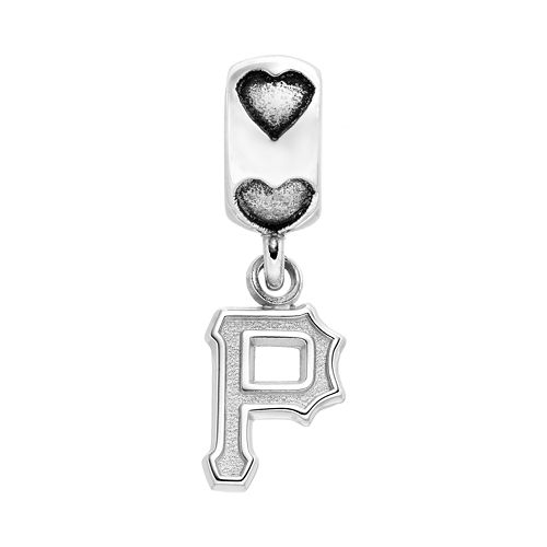 LogoArt Pittsburgh Pirates Sterling Silver Team Logo Charm