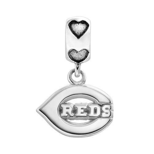 LogoArt Cincinnati Reds Sterling Silver Team Logo Charm