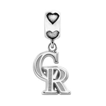 LogoArt Colorado Rockies Sterling Silver Team Logo Charm