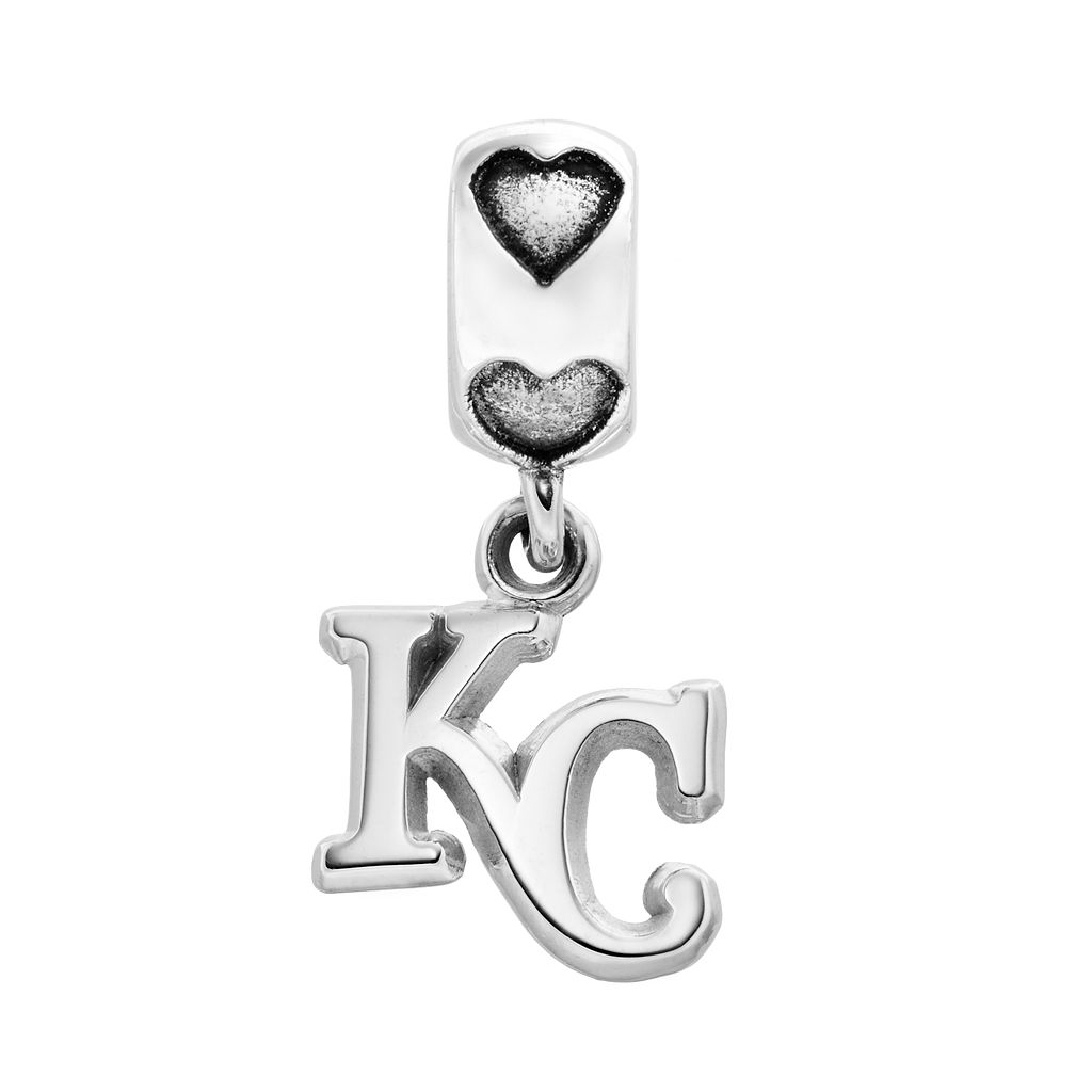 LogoArt Kansas City Royals Sterling Silver Team Logo Charm