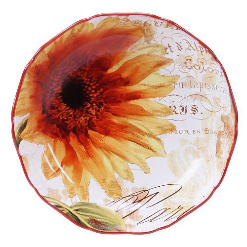 Certified International Paris Sunflower 13-in. Serving Bowl