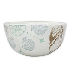 Celebrate Local Life Together Coastal Seashell 6 in Soup / Cereal Bowl