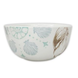 Celebrate Local Life Together Coastal Seashell 6-in. Soup / Cereal Bowl