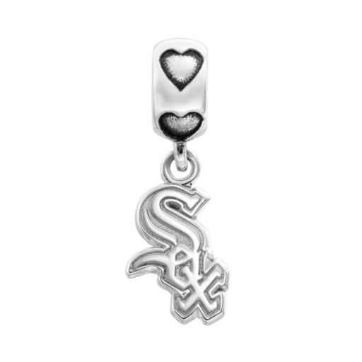 LogoArt Chicago White Sox Sterling Silver Team Logo Charm