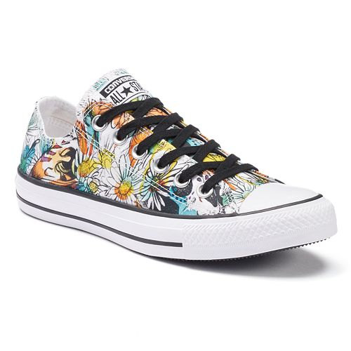 womens daisy converse sneakers